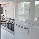 hoogglans spiegeling keuken