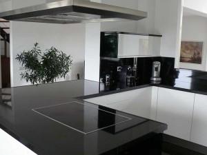 zwart wit keuken