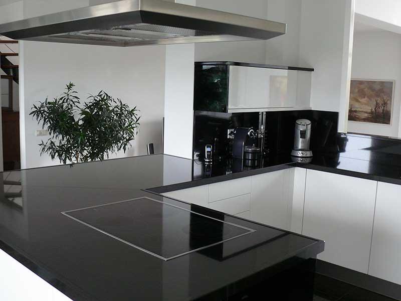 Keuken Wandkast Op Maat : Design Zwart-Wit