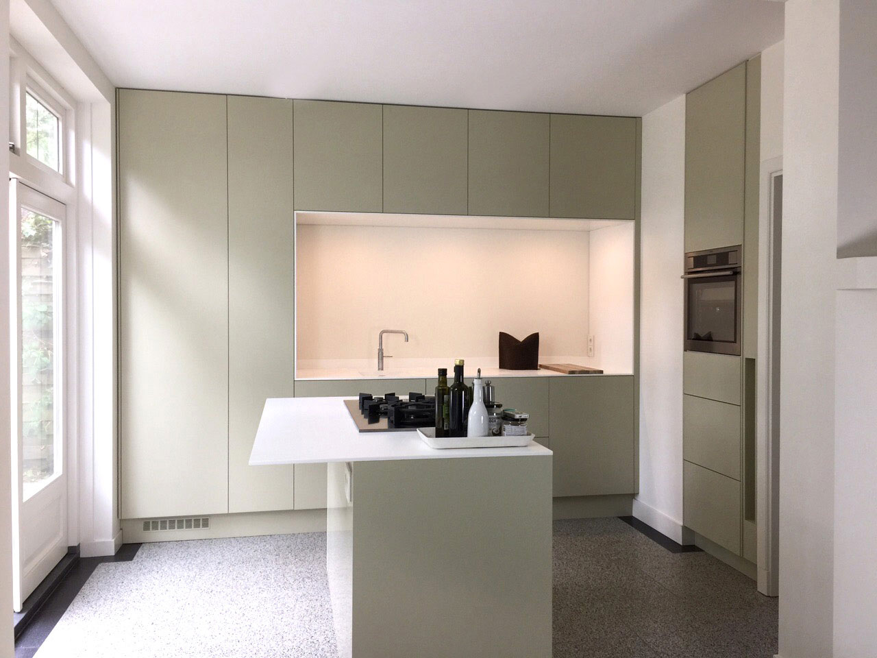 Moderne Keuken Met Schiereiland : Keukens op maat - Mijn Keukens op ...