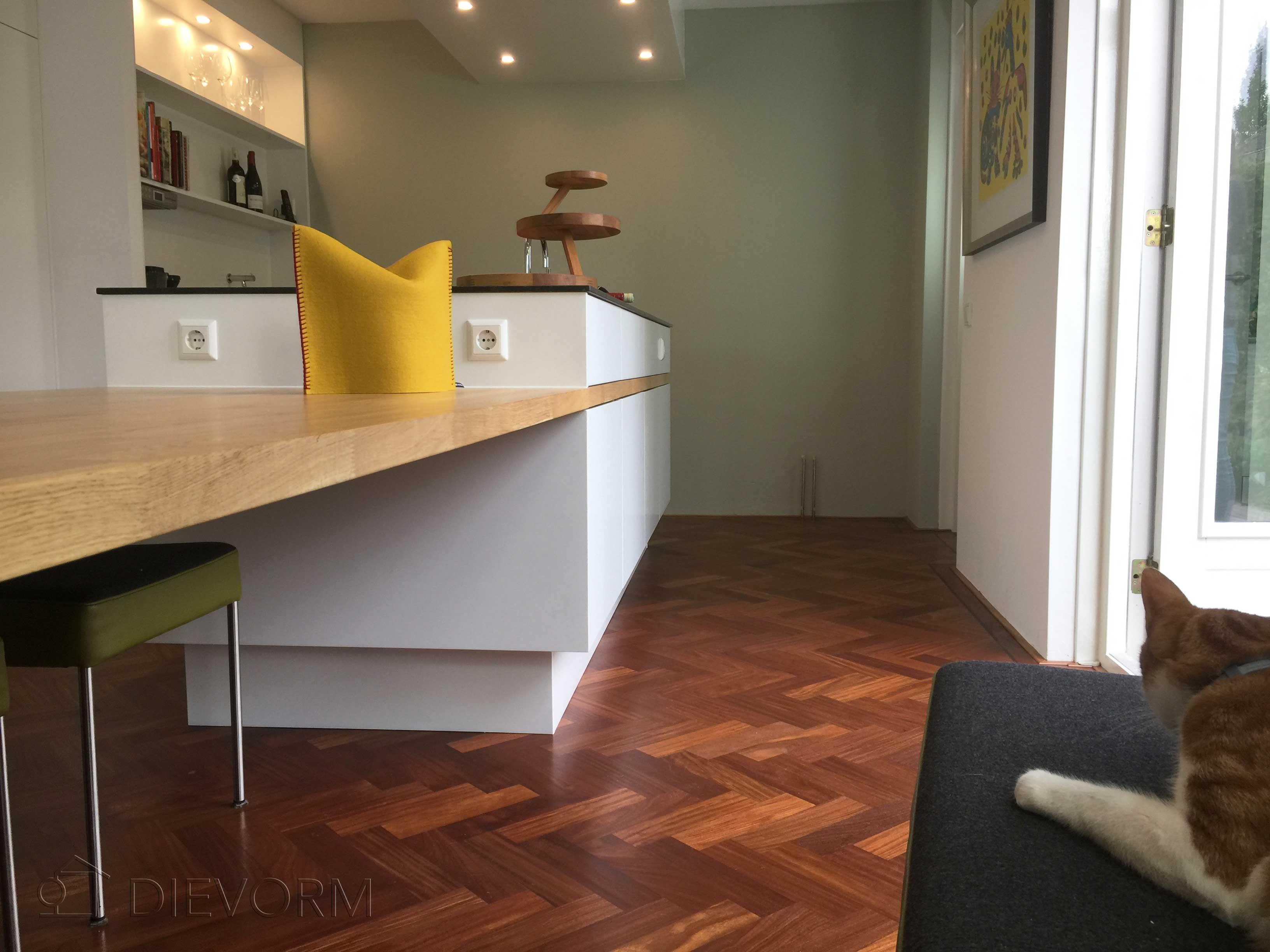 Landelijke keukens modern mijn keukens op maat laten maken - Centraal koken eiland ...