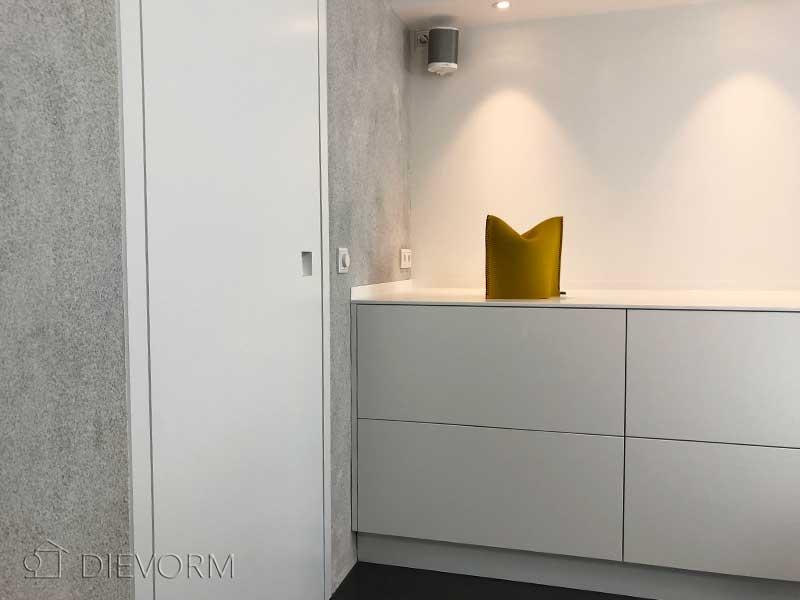 Strakke Witte Keuken : The living kitchen strakke witte keuken met rvs obly