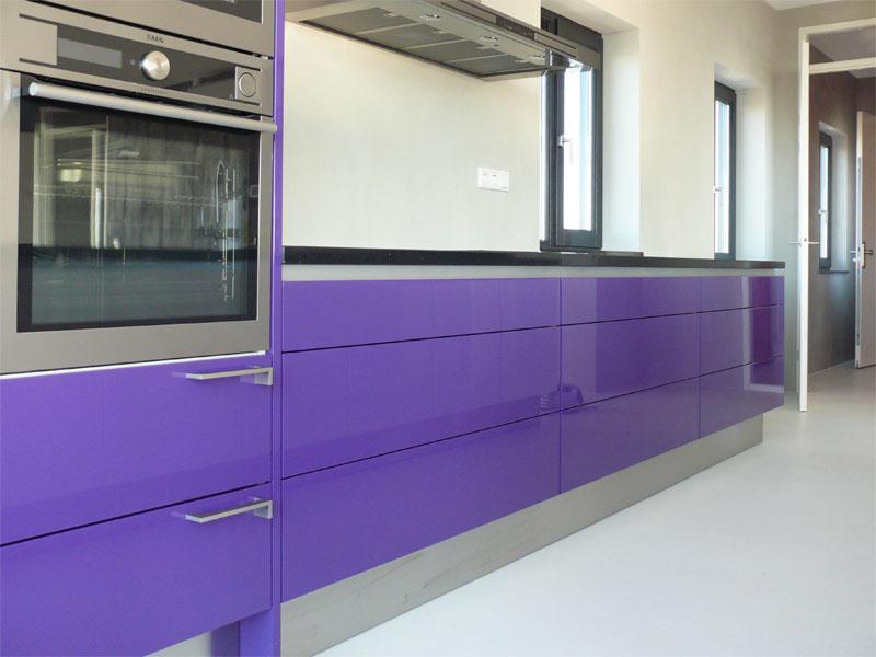 Design Hoogglans Keuken : Design keuken dievorm